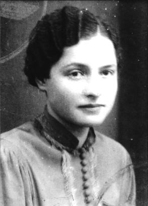 Passfoto Wilma 1939 2