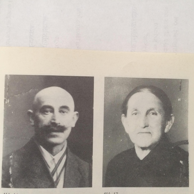 farfars bror Ludwig Ermann och hans fru Clara