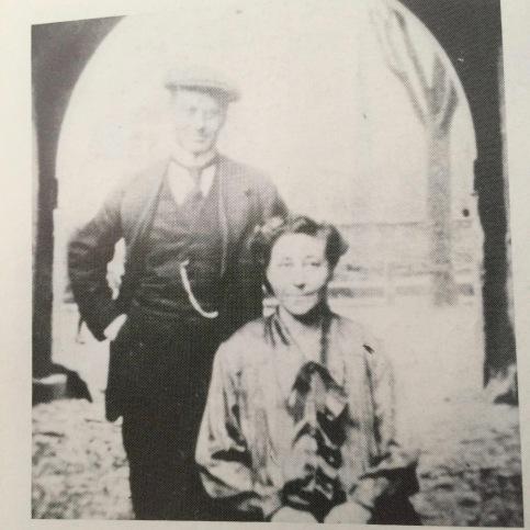 Wilmas lärare Josef Klein med sin fru Emma