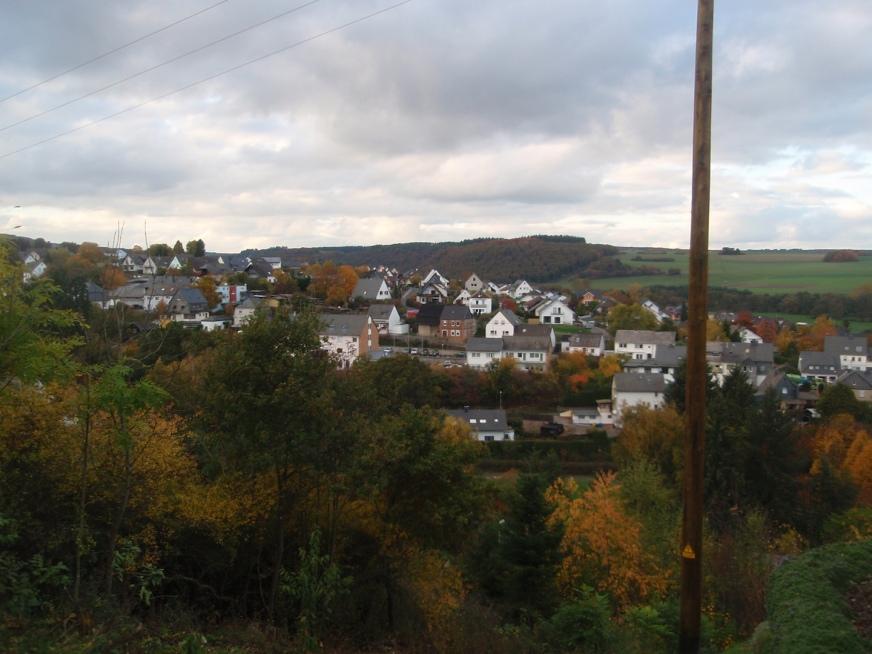 Utsikt över Rhaunen 2013