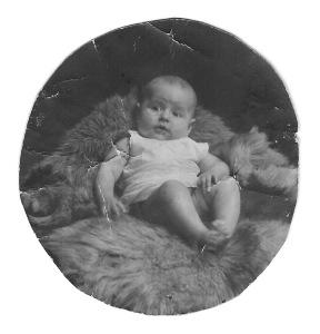 Wilma 4 månader, oktober 1924