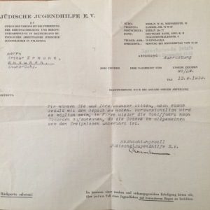 Ang Wilmas koffert från Jüdische Jugendhilfe Berlin